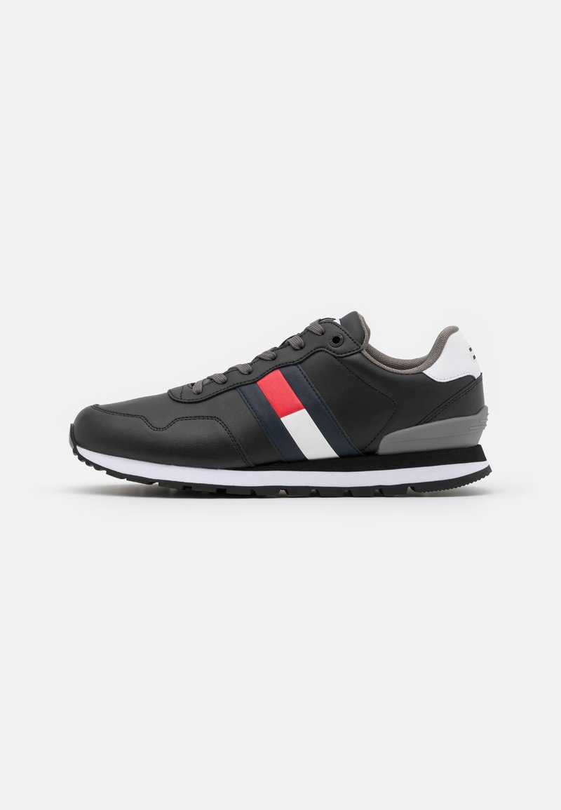 Tommy Jeans - LIFESTYLE  RUNNER - Trainers - black