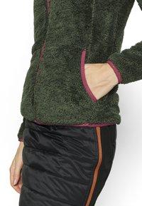 Icepeak - COLONY - Fleece jacket - dark olive - 4