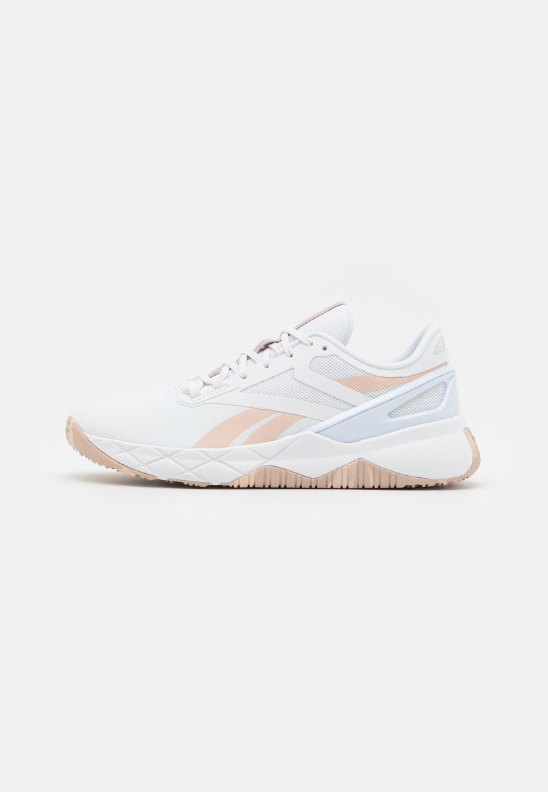 Reebok - NANOFLEX TR - Sportschoenen - footwear white/soft ecru/rose gold