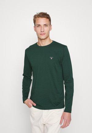 THE ORIGINAL - Top sdlouhým rukávem - tartan green