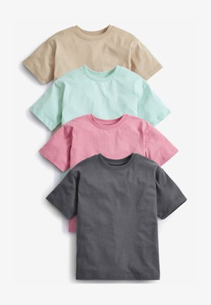 4 PACK - Basic T-shirt - multi-coloured
