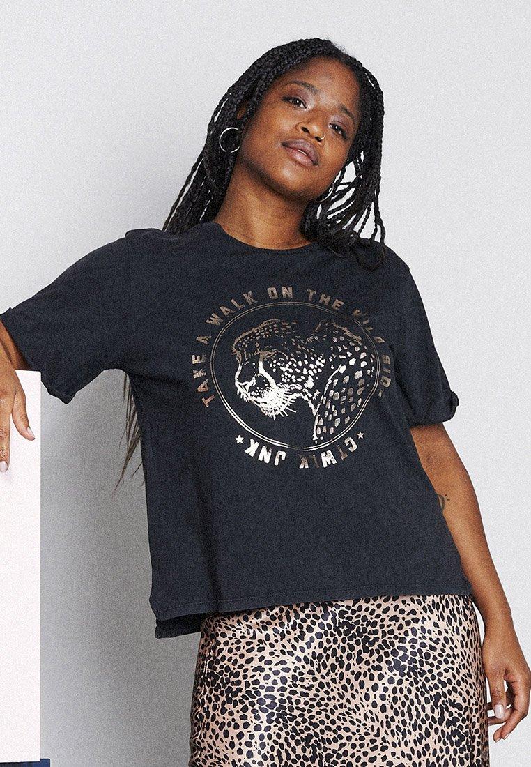 Catwalk Junkie - Print T-shirt - dark grey