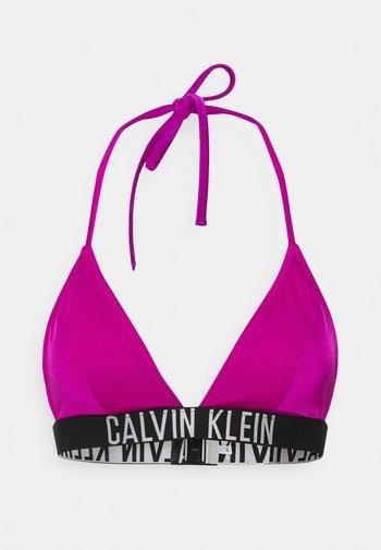 INTENSE POWER TRIANGLE - Bikini top - purple