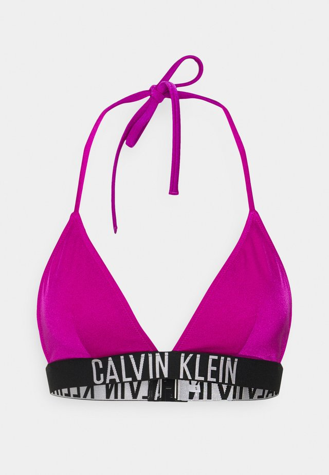 INTENSE POWER TRIANGLE - Bikini pezzo sopra - purple