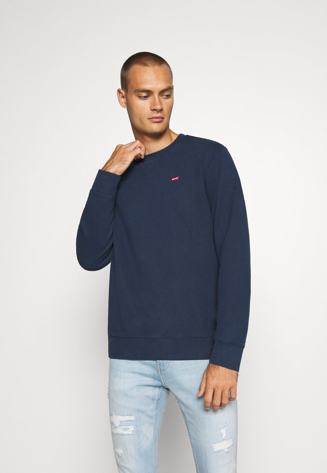 NEW ORIGINAL CREW UNISEX - Sweatshirt - dress blues