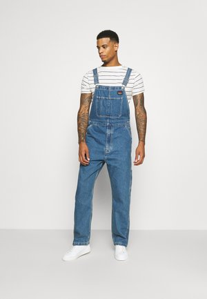 RT OVERALL UNISEX - Dungarees - overall stonewash