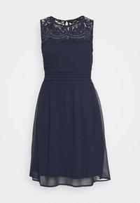 Vero Moda - VMVANESSA SHORT DRESS - Sukienka koktajlowa - night sky - 4