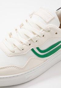 Genesis - SOLEY UNISEX - Sneakersy niskie - white/green/black - 6