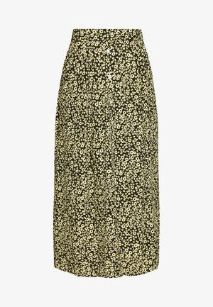 CELINA MOROCCO SKIRT - Áčková sukně - yellow
