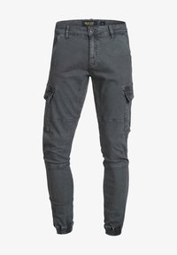 INDICODE JEANS - AUGUST - Cargo trousers - raven - 4