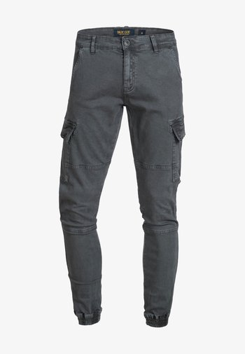 AUGUST - Pantaloni cargo - raven