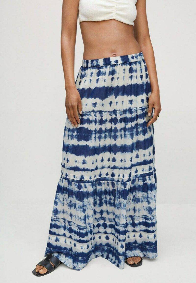 Mango - Maxi skirt - crudo