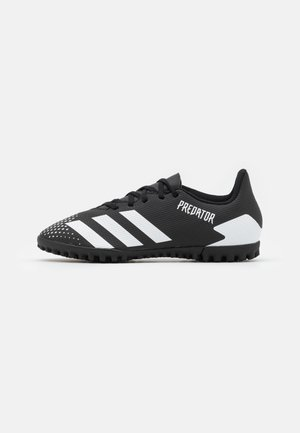 PREDATOR 20.4 FOOTBALL BOOTS TURF - Astro turf trainers - core black/footwear white