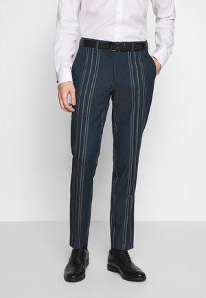 MYLOLOGAN - Oblekové kalhoty - navy blazer/white