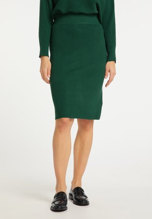 Pencil skirt - grün