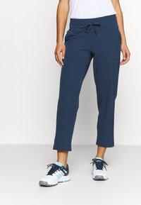 adidas Golf - GO TO COMMUTER PANT - Pantaloni - crew navy - 0