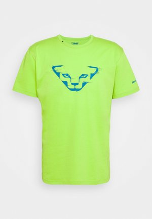 GRAPHIC TEE - Print T-shirt - lambo green