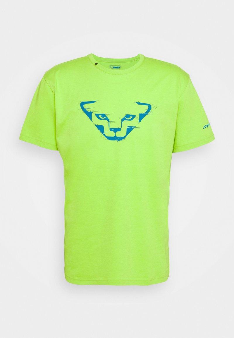 Dynafit - GRAPHIC TEE - T-shirt z nadrukiem - lambo green