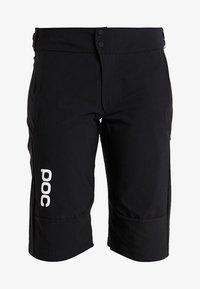 POC - ESSENTIAL SHORTS - Sports shorts - uranium black - 3