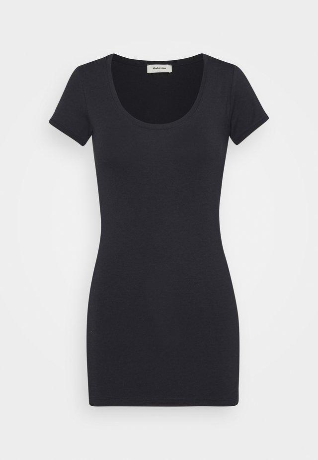 TRICK - T-shirt basique - navy noir