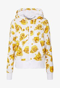 Versace Jeans Couture - Zip-up hoodie - white - 4