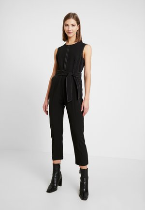 KEELEYCONSTRAST STITCHING - Jumpsuit - black