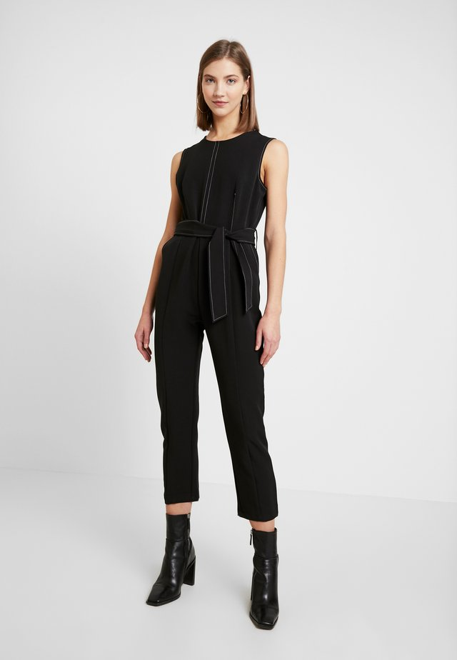 KEELEYCONSTRAST STITCHING - Overall / Jumpsuit - black