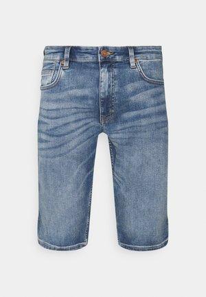 BERMUDA - Jeans Shorts - blue stret