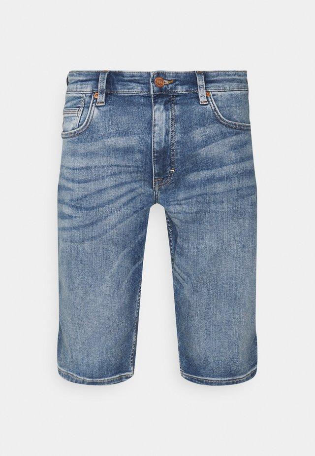 BERMUDA - Shorts di jeans - blue stret