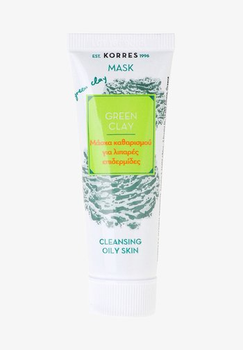 GREEN CLAY DEEP CLEANSING MASK - Face mask - -