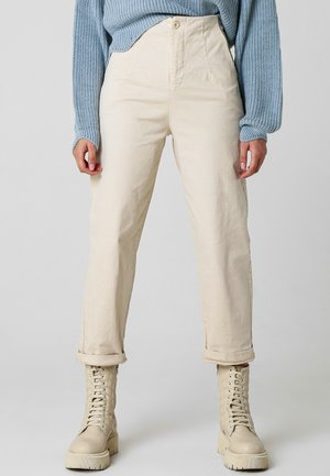 AMALIA - Trousers - beige