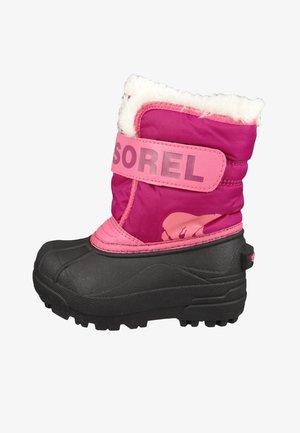 Winter boots - tropic pink deep blush