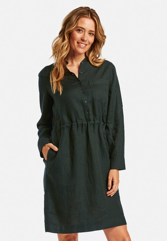 Shirt dress - deep forest