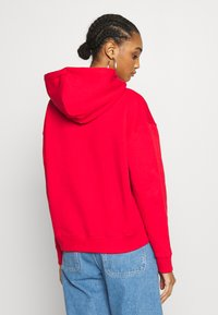 Tommy Jeans - BADGE HOODIE - Sweat à capuche - deep crimson