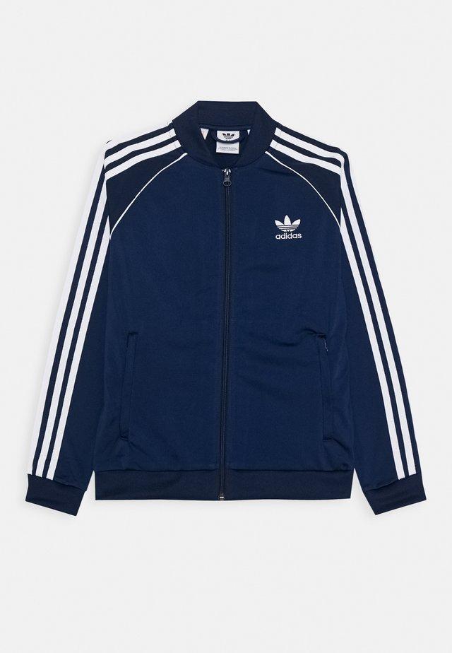 Training jacket - navy/white