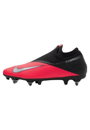 PHANTOM VISION 2 ACADEMY DF SGPROAC - Screw-in stud football boots - laser crimson/black/metallic silver