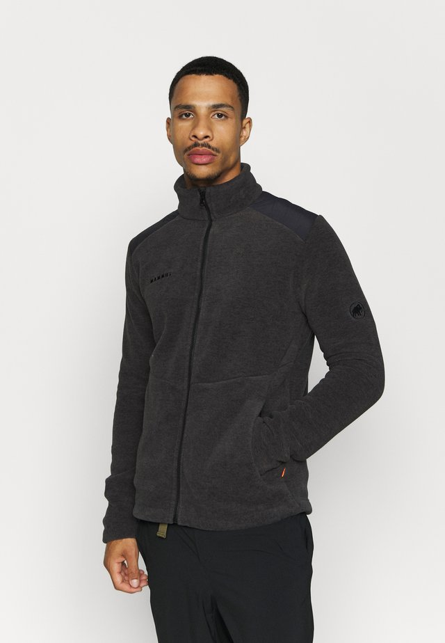 INNOMINATA JACKET MEN - Fleece jacket - dark grey melange