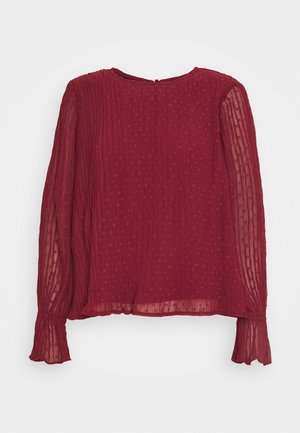 VMALBERTE PLEAT - Blouse - cabernet