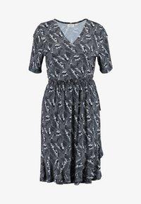 Saint Tropez - MINASZ WRAP DRESS - Jerseykjole - midnight - 4