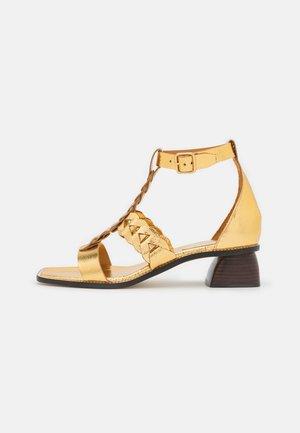 Sandalen - gold