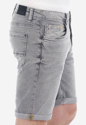 RIVUDO - Denim shorts - grey denim
