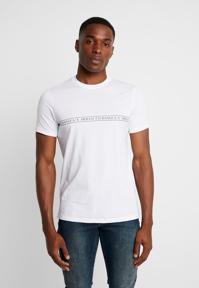 Armani Exchange - Print T-shirt - white