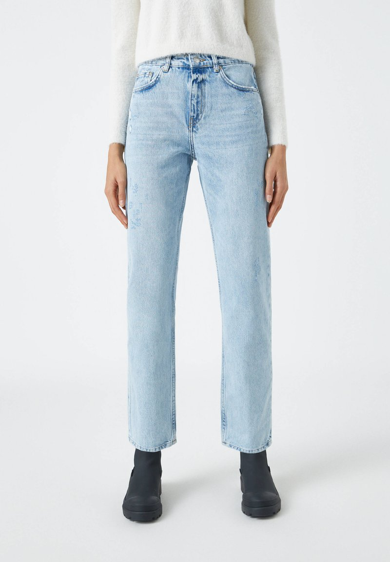 PULL&BEAR - Jeans a sigaretta - blue