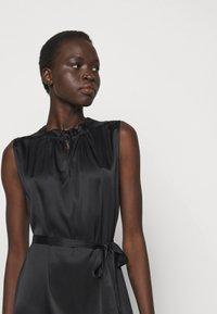 Sand Copenhagen - RAYA SLEEVELESS DRESS - Robe de soirée - black - 3