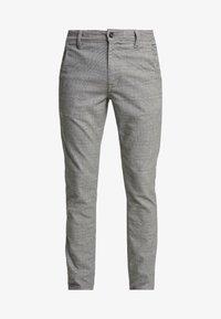 Selected Homme - SLHSLIM STORM FLEX SMART PANTS - Pantalones - grey - 4