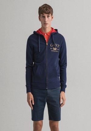 Zip-up hoodie - classic blue