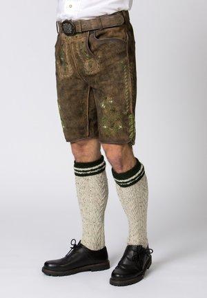 MICHEL - Shorts - brown