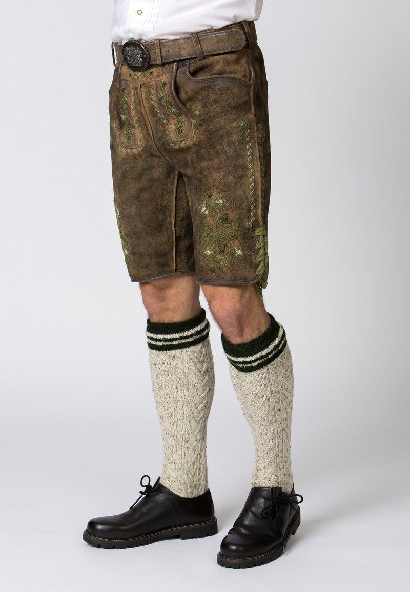 Stockerpoint - MICHEL - Shorts - brown