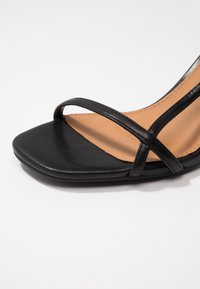 Rubi Shoes by Cotton On - HANNAH THIN STRAP HEEL - Sandaler - black smooth - 2