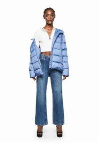 Pepe Jeans - DUA LIPA X PEPE JEANS - Winter jacket - fade blau - 1